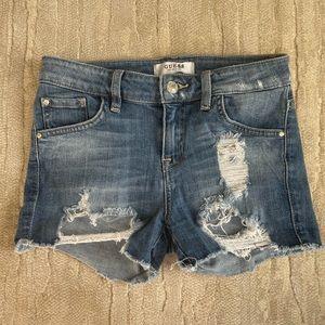 SHOP CLOSING SOON!!Guess Jean shorts